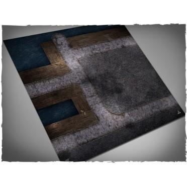 Terrain Mat Mousepad - Mythos Docks - 90x90