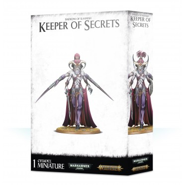 Age of Sigmar : Daemons of Slaanesh - Keeper of Secrets