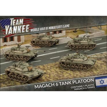 Team Yankee - Magach 6 Tank Platoon