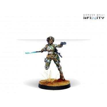 Infinity - Ariadna - Namurr Active Response Unit (Heavy Pistol, E/M CCW)