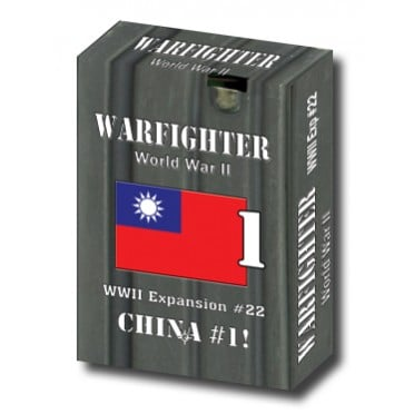 Warfighter WWII Expansion 22 – China 1