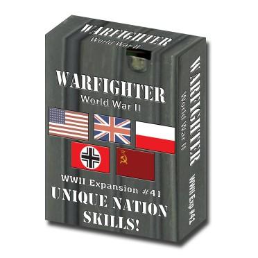 Warfighter WWII Expansion 41 – Unique Nation Skills
