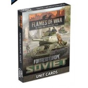 Flames of War - Fortress Europe Soviet Unit cards