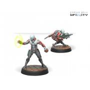 Infinity - Nomads - Zeros (Combi Rifle/Hacker)