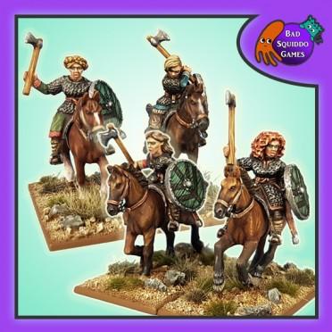 Mounted Shieldmaiden Hearthguard