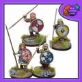 Shieldmaiden Warriors with Spears 0