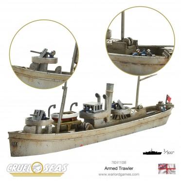 Cruel Seas: Armed Trawler