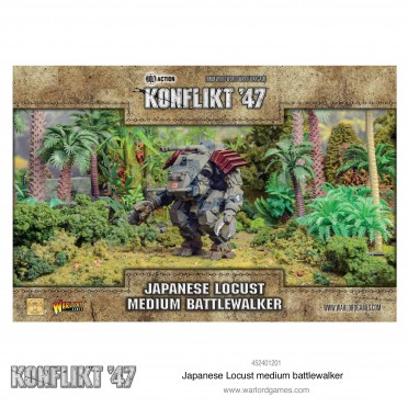 Konflikt 47 - Japanese Locust Medium Battlewalker