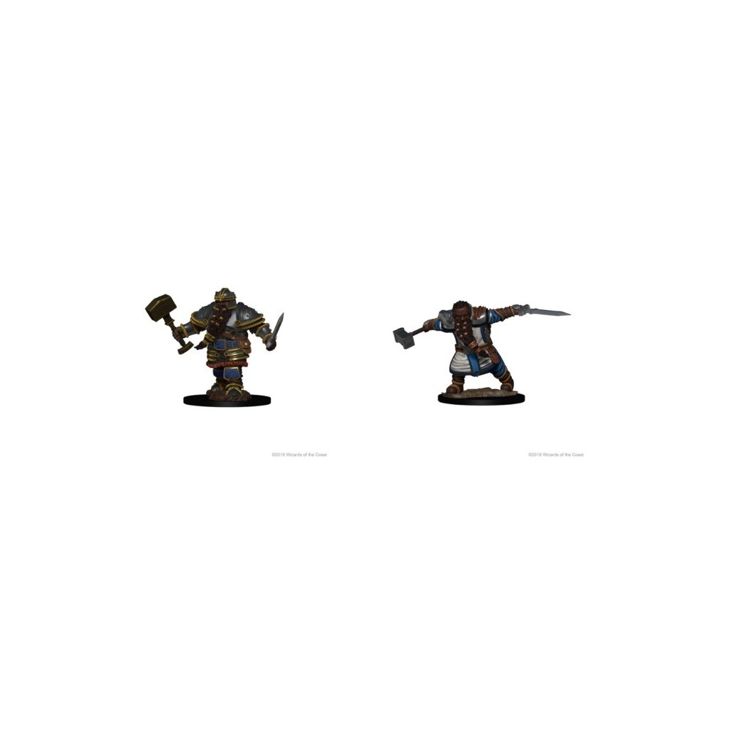 Buy Dungeons Dragons Nolzurs Marvelous Miniatures Dwarf Male