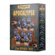 Warhammer 40,000 : Apocalypse - Movement Trays (25mm)