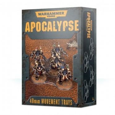 Warhammer 40,000 : Apocalypse - Movement Trays (32mm)