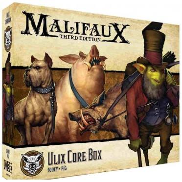 Malifaux 3E - Bayou - Captain Zipp Core Box (copie)