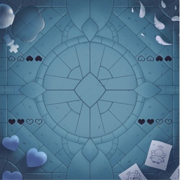 Buy Playmat : Four Souls Cathedral Four Player : Binding of Isaac - Board  Game - Studio 71