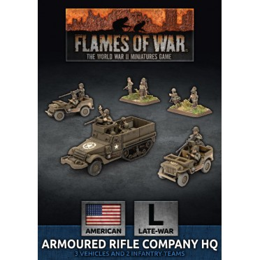 Buy Flames Of War Armoured Rifle Company Hq Board Game