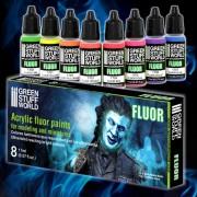 Fluor Paint Set