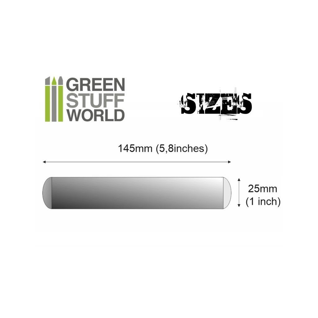 Buy Rolling Pin 25 mm - Board Game - Green Stuff World