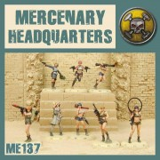 Dust - Mercenary Headquarters