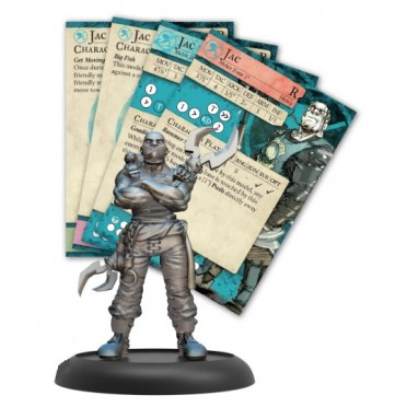 Guild Ball - The Fisherman's Guild - Rookie Jac