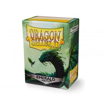 100 Dragon Shield Matte Emerald