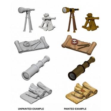 WizKids Deep Cuts Unpainted Miniatures: Navigator's Pack