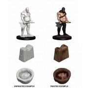 WizKids Deep Cuts Unpainted Miniatures: Executioner & Chopping Block