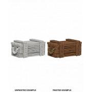 WizKids Deep Cuts Unpainted Miniatures: Crates