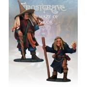 Frostgrave - Distortionist & Apprentice