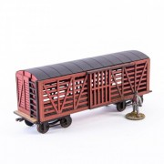 19th C. Stock Car (Red)