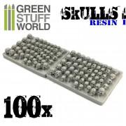 Crânes Humains en Résine (x100)