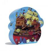 Puzzle silhouette - Le bateau de Barberousse- 54 pièces