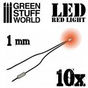 Cool White LED Lights - 2mm
