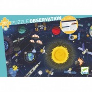 Puzzle Observation – L'Espace + Livret – 200 Pièces