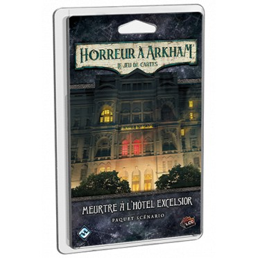 Horreur à Arkham : Le Jeu de Cartes - Meurtre à l'Hôtel Excelsior