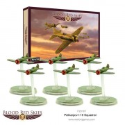 Blood Red Skies - Soviet- Polikarpov I-16 squadron, 6 planes
