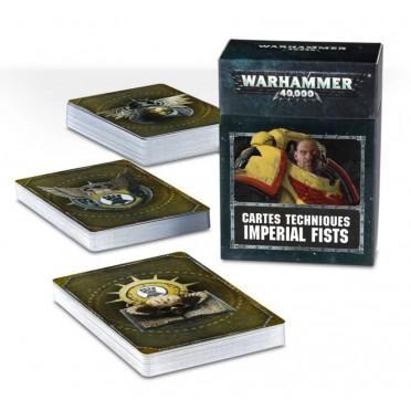 W40K : Cartes Techniques - Imperial Fists