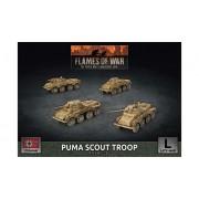 Flames of War - Puma Scout Troop