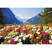 Micro Puzzle – Garden Flowers of Lake Louise – 40 Pièces