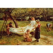 Micro Puzzle – The Apple Gatherers – 40 Pièces