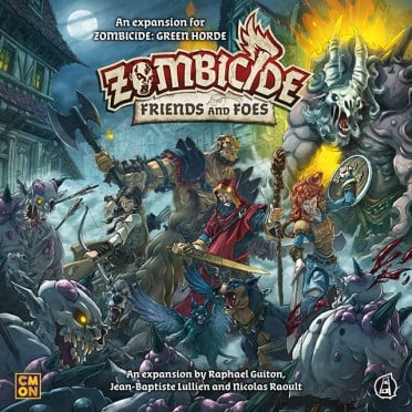 Zombicide - Green Horde - Friends and Foes