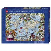 Puzzle Quirky World – 2000 Pièces