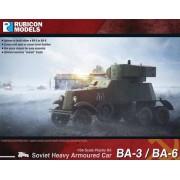 BA-3 / BA-6 Soviet Heavy Armoured Car