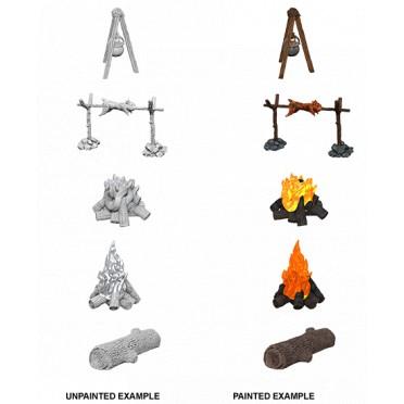 Pathfinder Deep Cuts - Camp Fire & Sitting Log