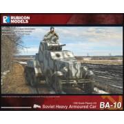 BA-10 Soviet Heavy Armoured Car