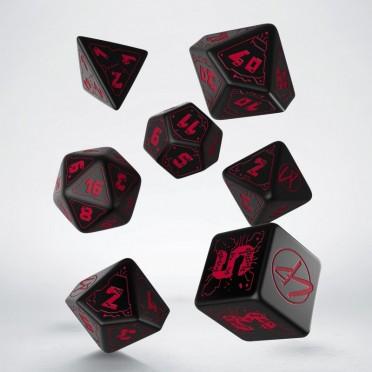 Cyberpunk Red RPG Dice Set