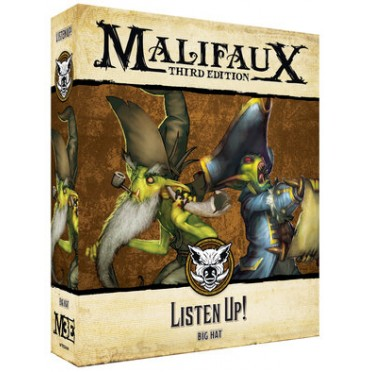 Malifaux 3E - Bayou - Listen Up!