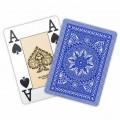 Jeu de 54 cartes Modiano format poker - Bleu foncé 2