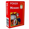 Jeu de 54 cartes Modiano format poker - Rouge 0