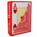 Jeu de 54 cartes Modiano format poker - Rouge 1