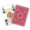 Jeu de 54 cartes Modiano format poker - Rouge 2