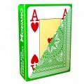 Jeu de 54 cartes Modiano format poker - Vert clair 1